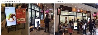 飲食店の入店率向上に効果的なサイネージの活用例