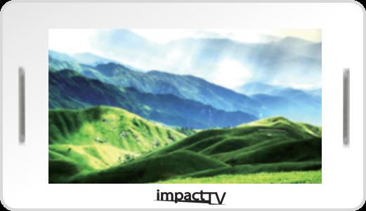 「店頭販促用サイネージ7R impactTVを新発売」をリリースしました。