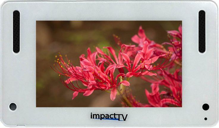 「店頭販促用小型サイネージ「4RS impactTV」を新発売」をリリースしました。