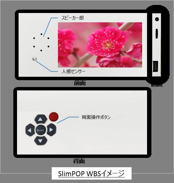 「薄型・軽量の紙製サイネージ「SlimPOP」を多機能にバージョンアップ」をリリースしました。